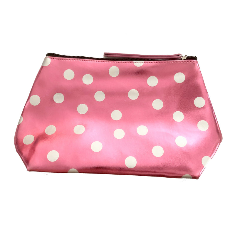 Metalic Pink Cosmetic Purse