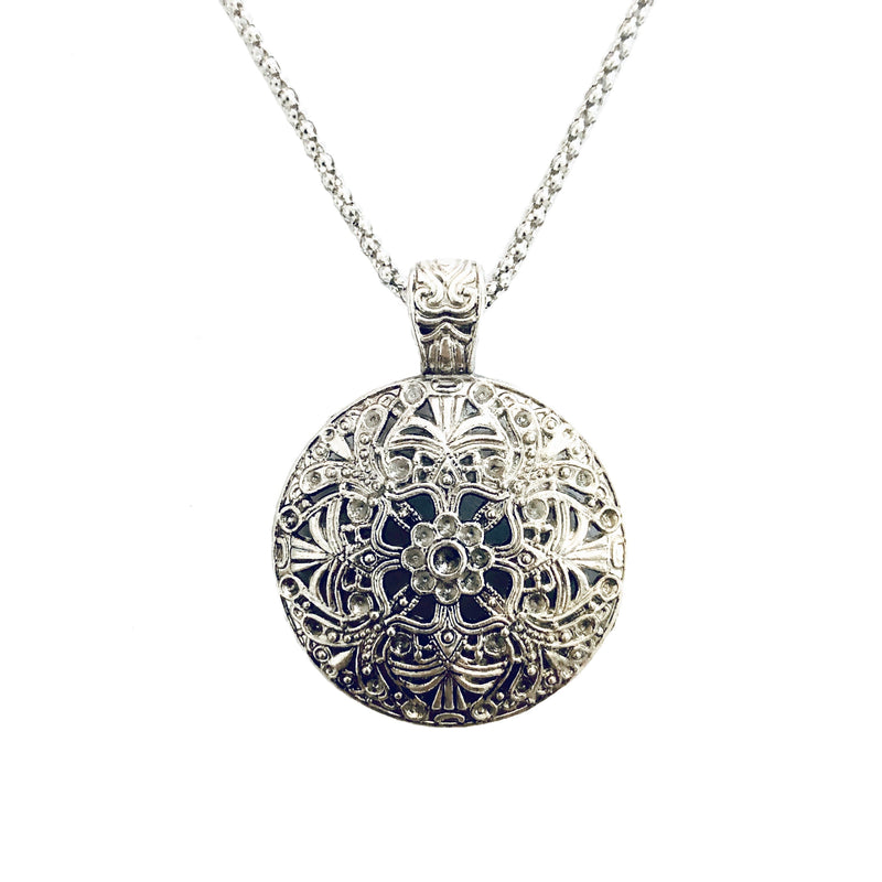 Boho Disc Necklace