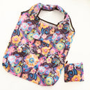 Mega shopping bag in pouch - Floral