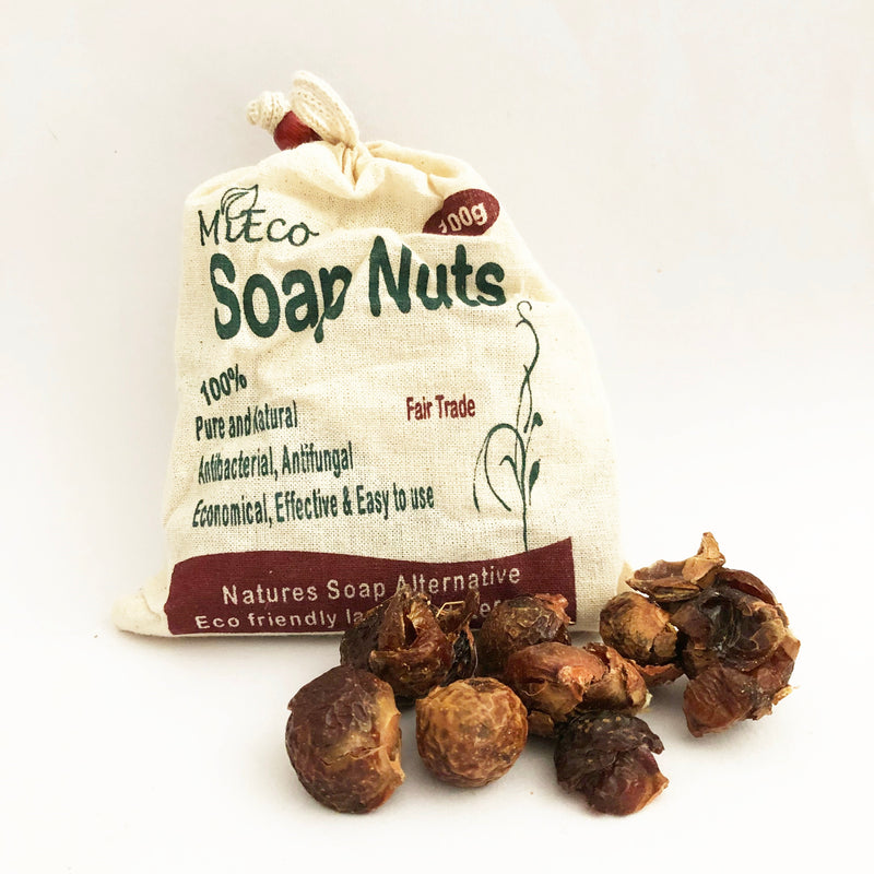 Soap Nuts - 100g with Wash Bag
