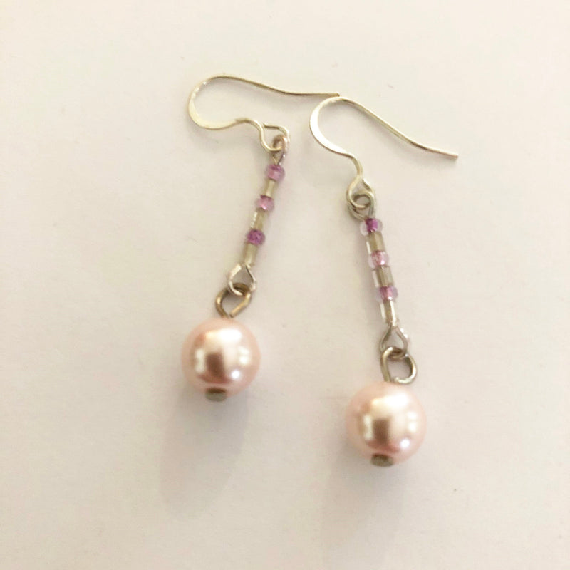 Silver toned earrings - Various styles