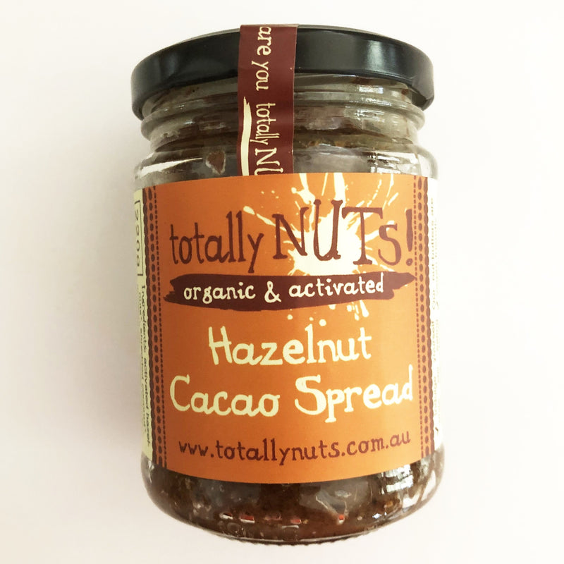 Hazelnut Cacao Spread - Organic - Activated 220g
