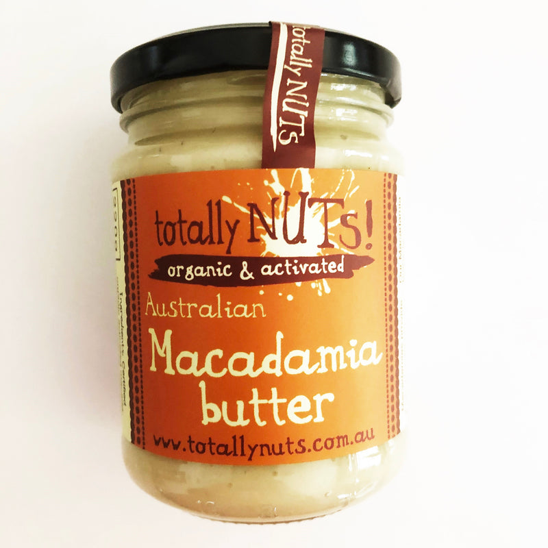Macadamia Butter - Organic - Activated 220g