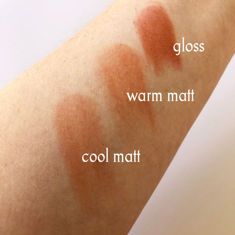 Lip Tint Warm Matt - Warm Red Matt Hue - 10g