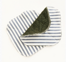 Towel Backed Dish Cloth - Striped