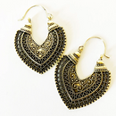 Boho Bronze Earrings