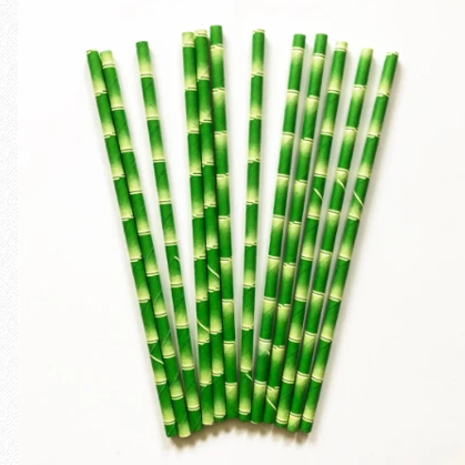 Eco cocktail straws