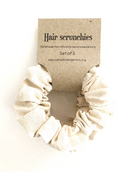 Calico Scrunchies set of 3