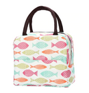 Insulated lunch bag - Pastel Fish