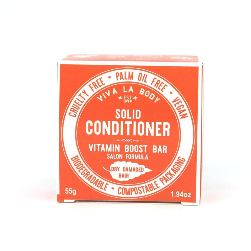 Solid Conditioner Vitamin Boost - Dry & Damaged Hair