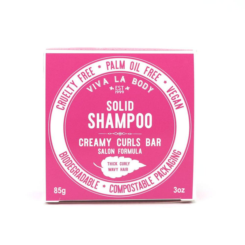 Solid Shampoo Creamy Curls - Curly Hair