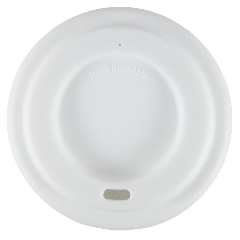 Coffee Cup Lid 9cm diameter White