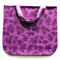 Purple Autumn fully lined shopping tote