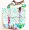 Tie Dye fully lined shopping tote