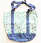 Dotted fully lined shopping tote