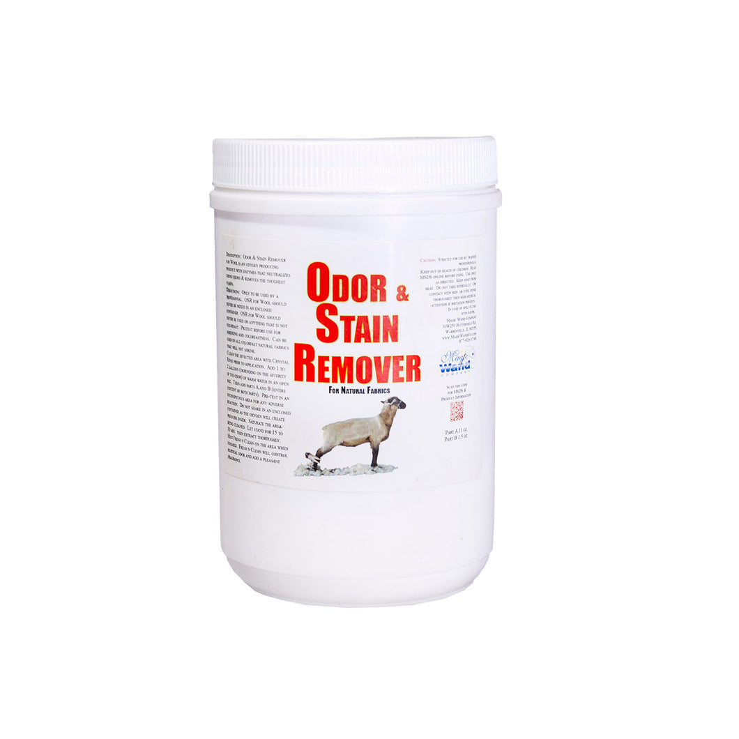 Odor & Stain Remover for Wool