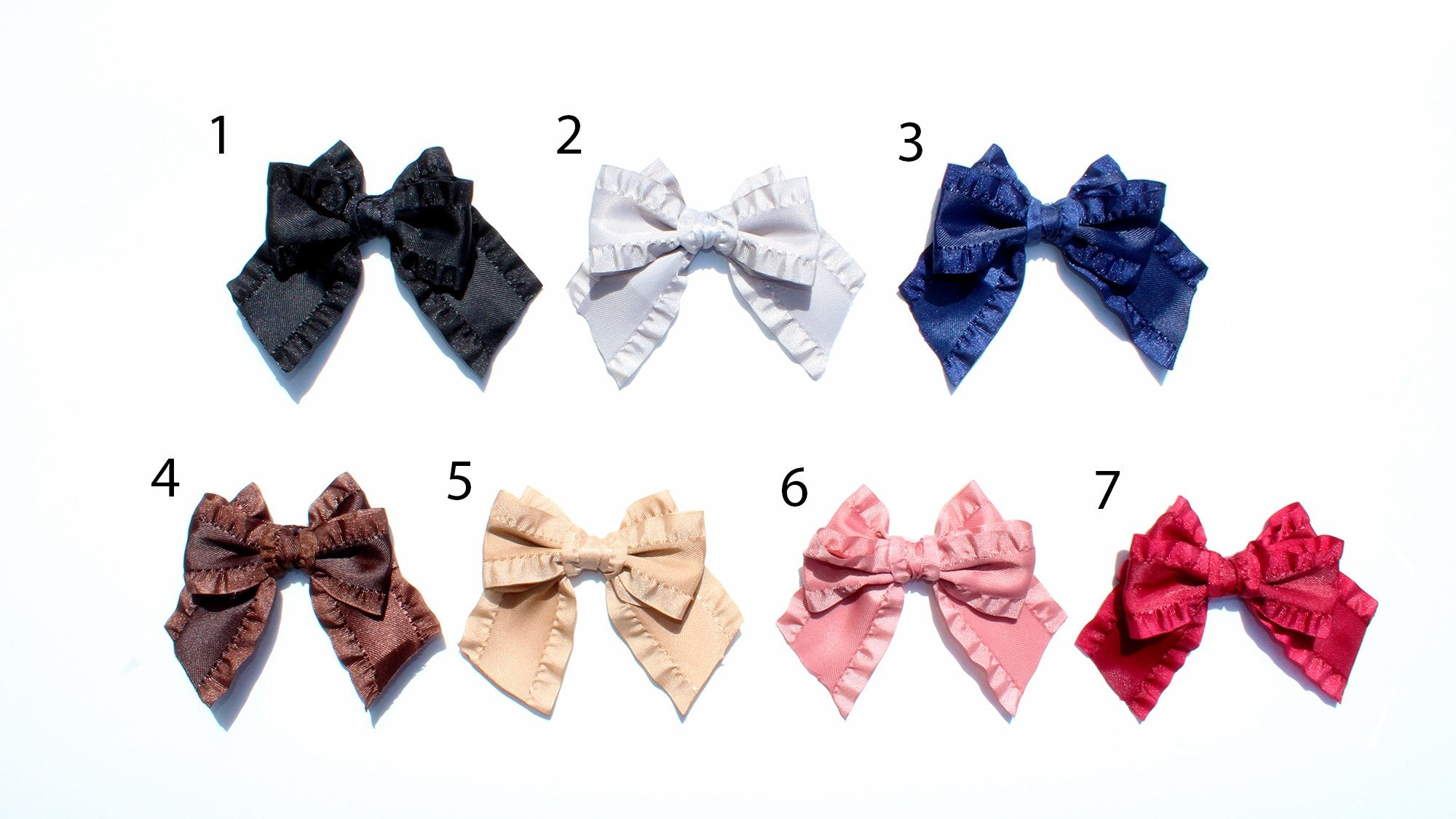 alamaincheck ruffle ribbon