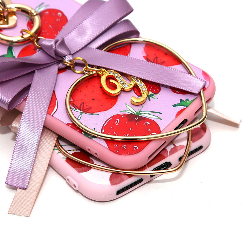 strawberry&cherry petaru ribbon