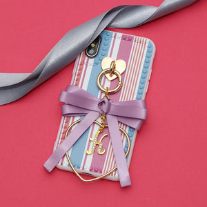 ramune stripe loopbow ribbon