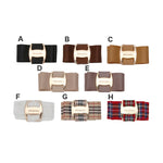 wintercheck buckle ribbon