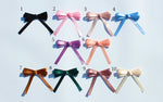 orangecheck loopbow ribbon
