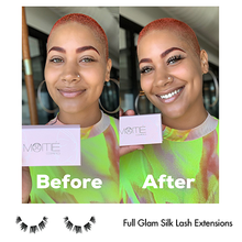 Load image into Gallery viewer, At Home Lash Hypoallergenic Extension Kit