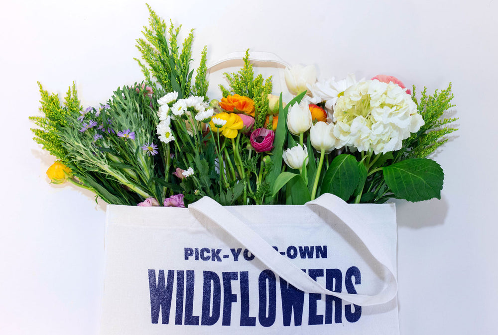 New Spring Summer Tote Bags Are In! Wildflowers Tote Bag