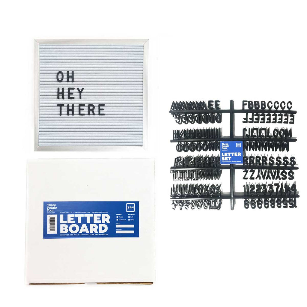Felt Letter Board For Sale | Buy a Letter Board Today! – THREE ...