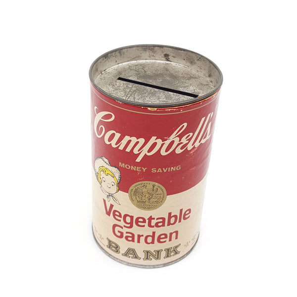 Vintage Campbell's Soup Bank