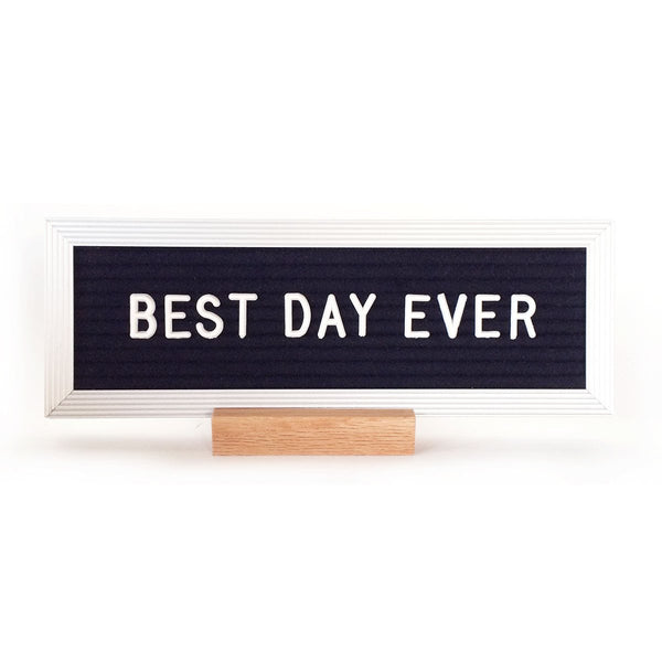 DESKTOP LETTER BOARD - BLACK