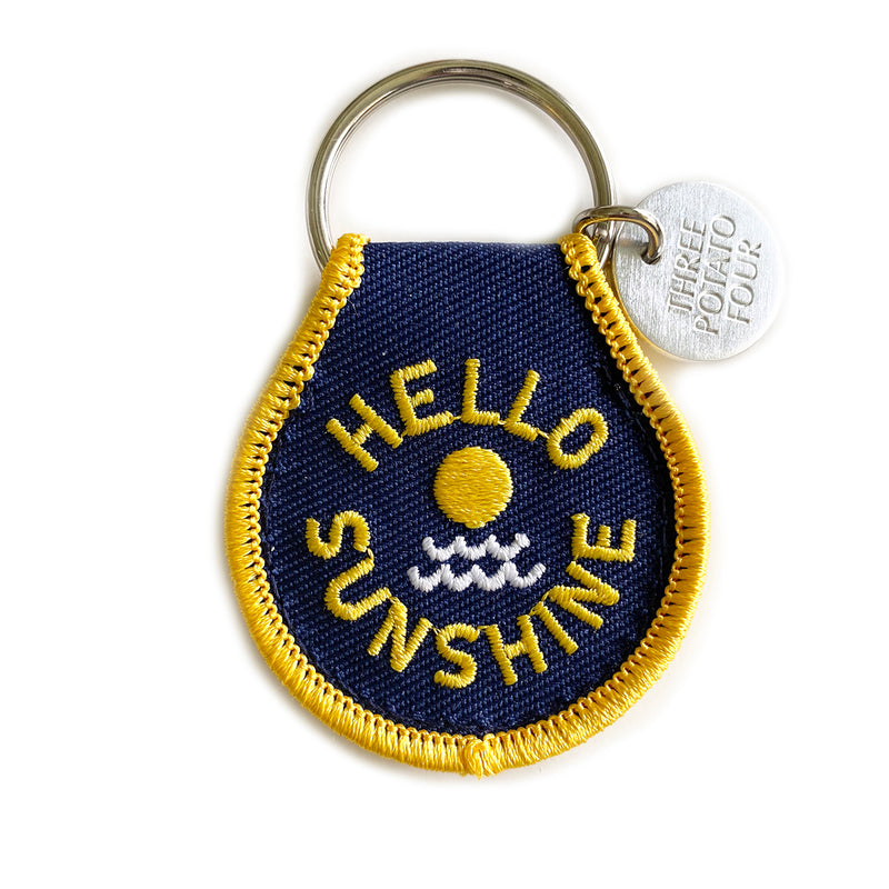 Patch Keychain - Hello Sunshine