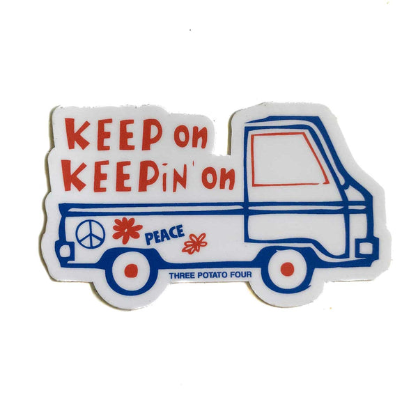 Sticker - Keep On Keepin' On