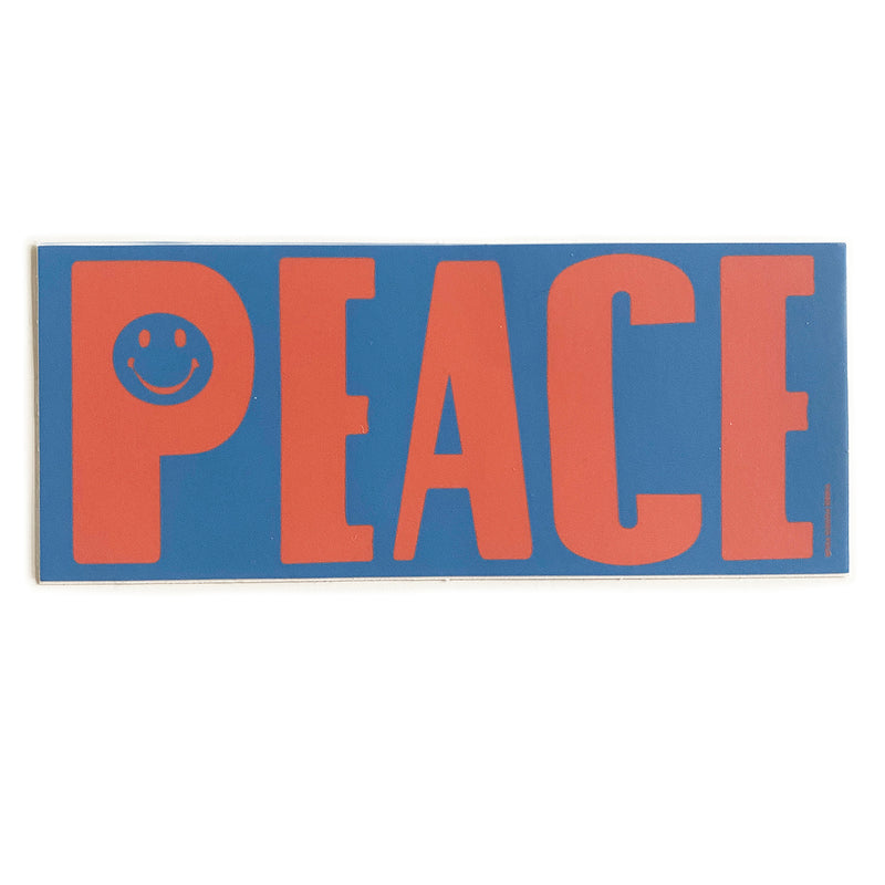 Sticker - Peace (Red & Blue)