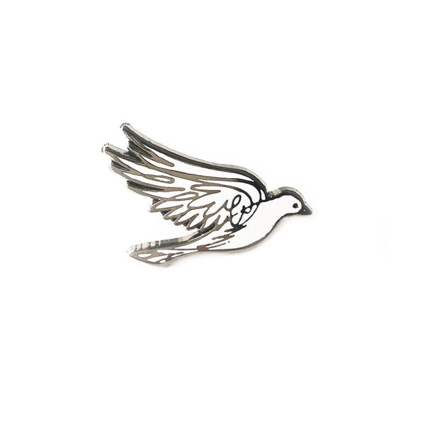 Enamel Pin - Peace Dove