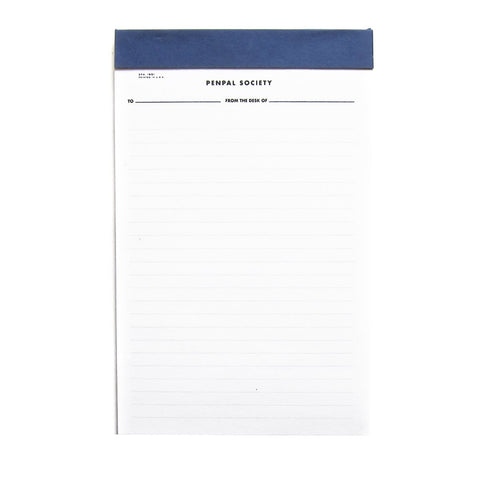 NOTEPAD - PENPAL 3-Pack
