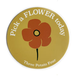 Sticker - Pick A Flower Today