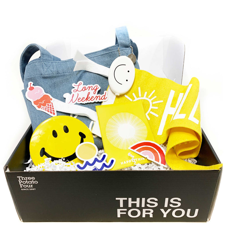 """This Is For You"" Gift Box - Smiling Is My Favorite"