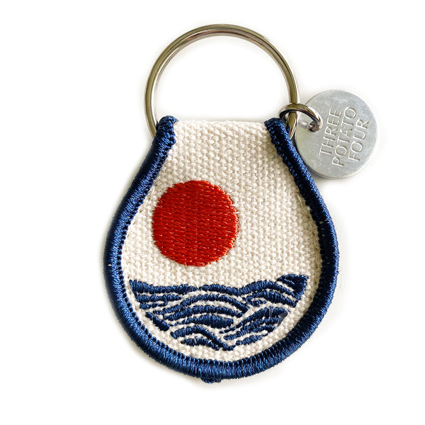 Patch Keychain - Sun & Waves