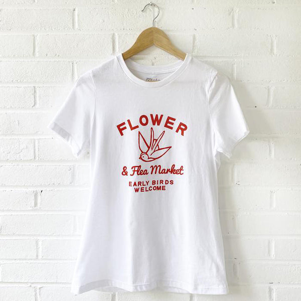 Women's Tee - Flower & Flea Market