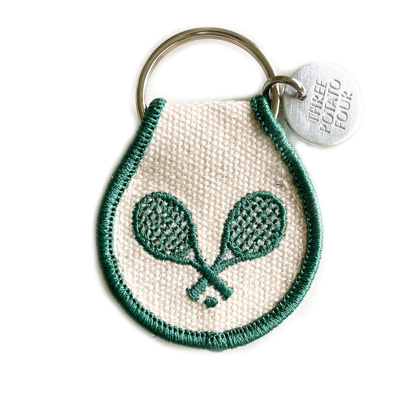 Patch Keychain - Tennis Partners