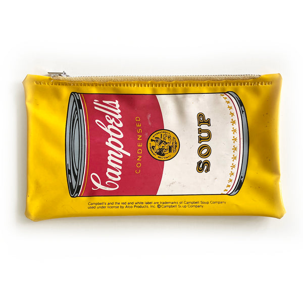 Vintage Andy Warhol Campbell's Soup Pencil Case