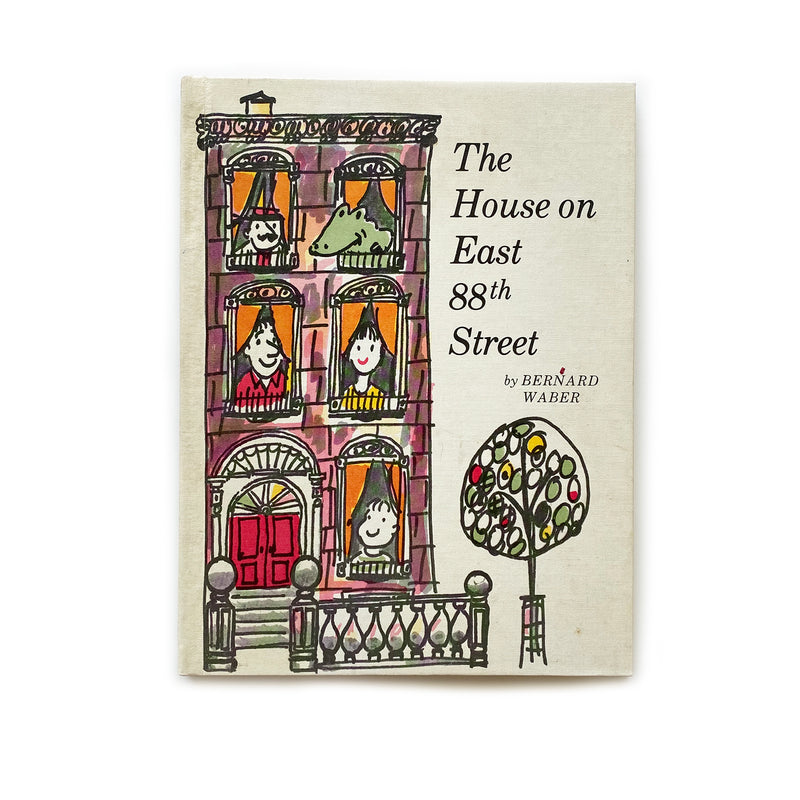 Vintage Book - The House on East 88th Street, Waber
