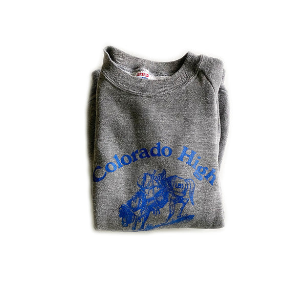 Vintage Colorado High Crewneck Sweatshirt