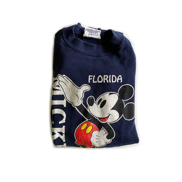 Vintage Florida Mickey Mouse Crewneck Sweatshirt