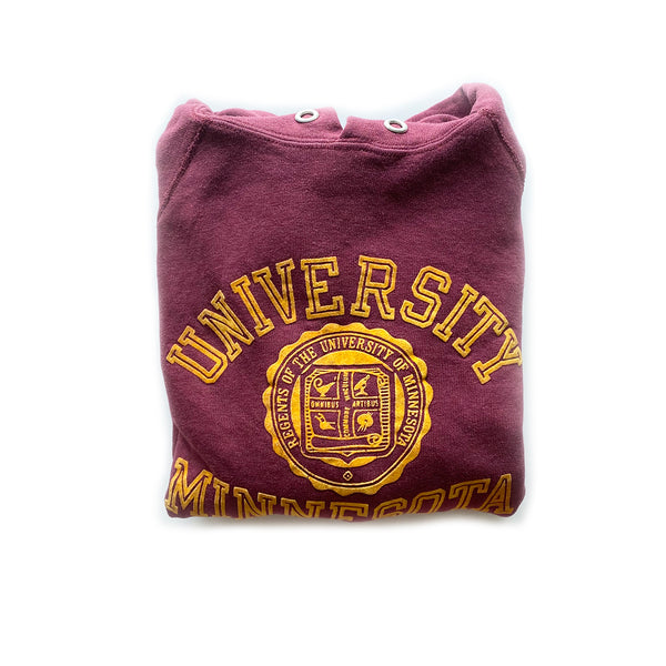 Vintage University of Minnesota Champion Hoodie Sweatshirt