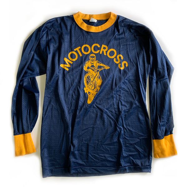 Vintage Motocross Long-Sleeve Champion Jersey