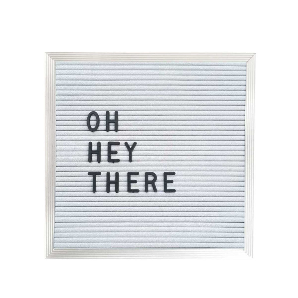 10 x 10 letter board white three potato four
