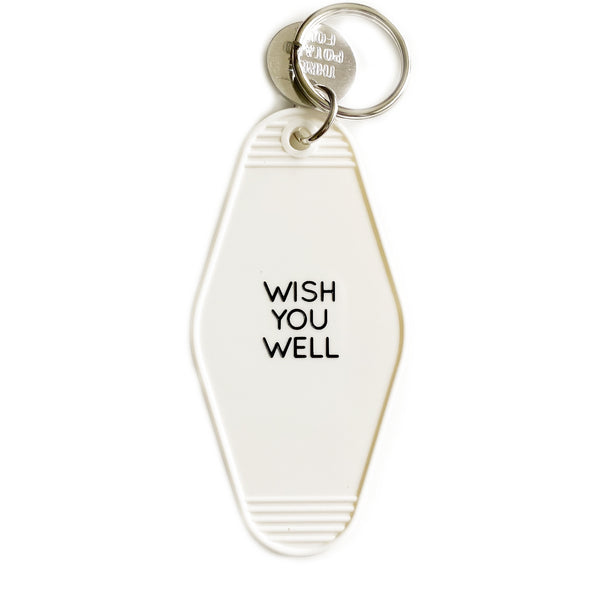 Wish You Well Key Tag