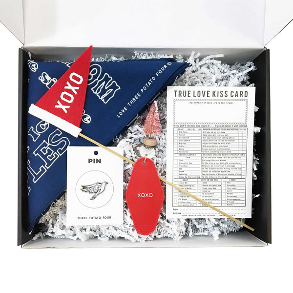 """This Is For You"" Gift Box - X's and O's"