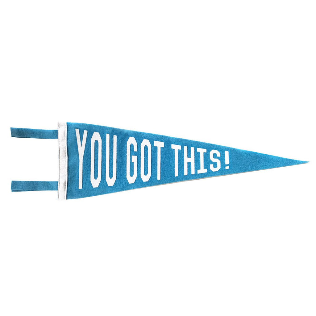 YOU GOT THIS PENNANT - BLUE